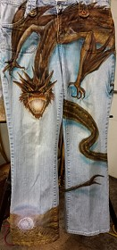 Smaug Jeans With The Arkenstone