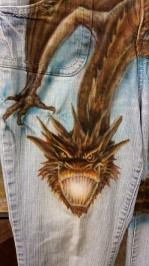 Smaug Jeans Face
